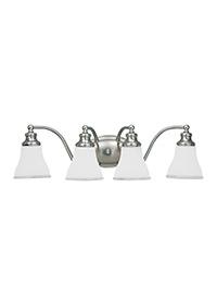 Four Light  Wall / Bath