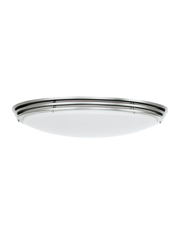 59152ble 962 Two Light Ceiling Flush Mount Brushed Nickel