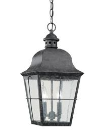 Two Light Outdoor Pendant