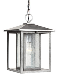 One Light Outdoor Pendant