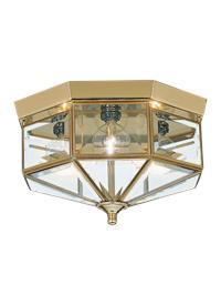 Four Light Ceiling Flush Mount