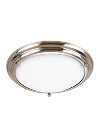 Small Two Light Ceiling Flush Mount