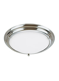 Medium Two Light Ceiling Flush Mount