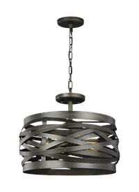 Two Lgiht Semi-Flush Convertible Pendant