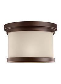 One Light Outdoor Ceiling Flush Mount
