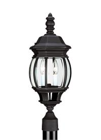 Two Light Outdoor Post Lantern