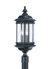 Three Light Outdoor Post Lantern