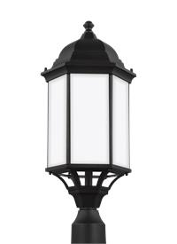 Large One Light Outdoor Post Lantern