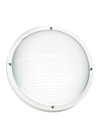 One Light Outdoor Wall / Ceiling Mount
