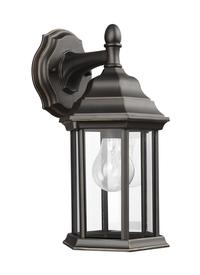 Small One Light Downlight Outdoor Wall Lantern