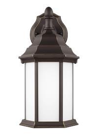 Small One Light Downlight Outdoor Wall Lantern