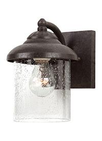 One Light Outdoor Wall Lantern