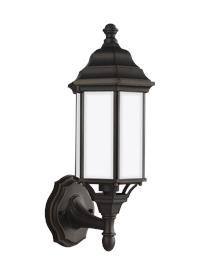 Small One Light Uplight Outdoor Wall Lantern