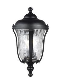 Medium Three Light Outdoor Wall Lantern