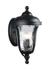 Large Three Light Outdoor Wall Lantern