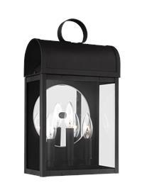Three Light Outdoor Wall Lantern