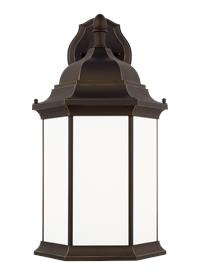 Extra Large One Light Downlight Outdoor Wall Lantern