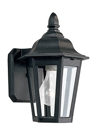 One Light Outdoor Wall Lantern