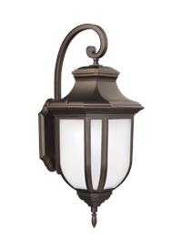 Extra Large Two Light Outdoor Wall Lantern