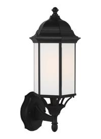 Medium One Light Uplight Outdoor Wall Lantern