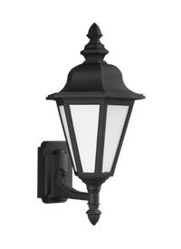 Medium Uplight One Light Outdoor Wall Lantern