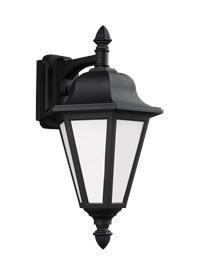 Medium Downlight One Light Outdoor Wall Lantern