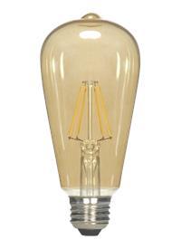 BULB MB ST19 6.5W 120V AM LED