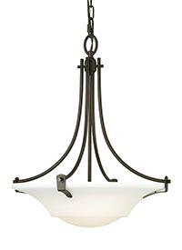 Medium Three Light Pendant