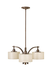 Three Light Kitchen Chandelier