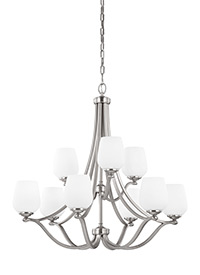 Nine Light Chandelier