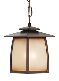 One Light Outdoor Pendant Lantern