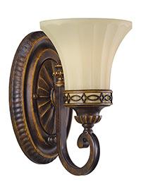 One Light Vanity Fixture