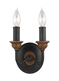 Two Light ADA Wall Sconce