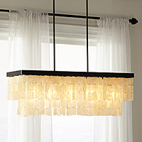 Chandelier lighting with lighting ideas for dining rooms, living rooms, bedrooms and kitchens.