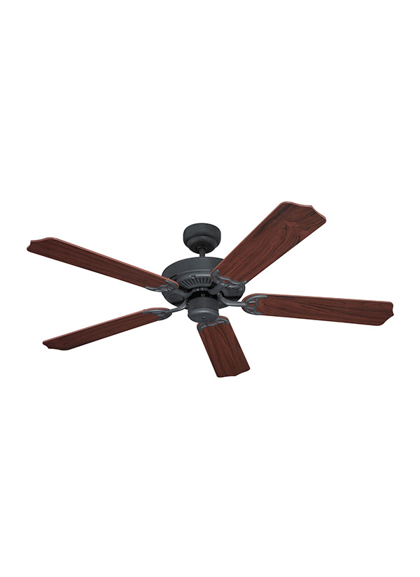 15030 07 Quality Max Ceiling Fan Weathered Iron