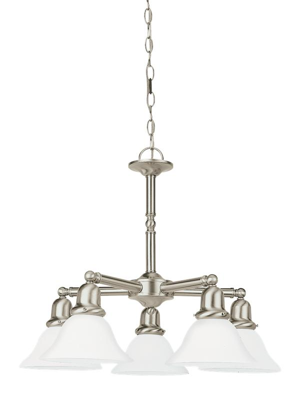 31061 962five light chandelierbrushed nickel aloadofball Image collections