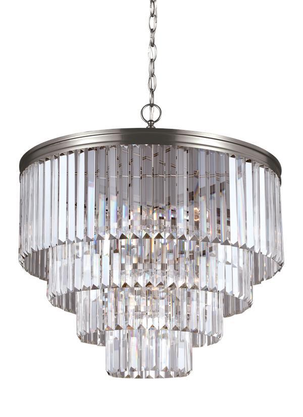 3114006en 965six light chandelierantique brushed nickel mozeypictures Gallery