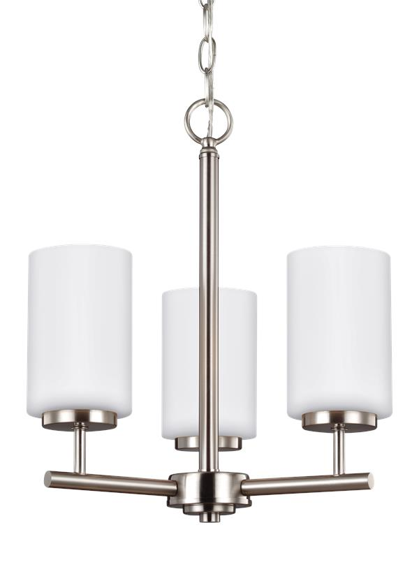 31160 962three light chandelierbrushed nickel aloadofball Images