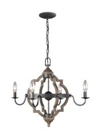 four light chandelier msrp