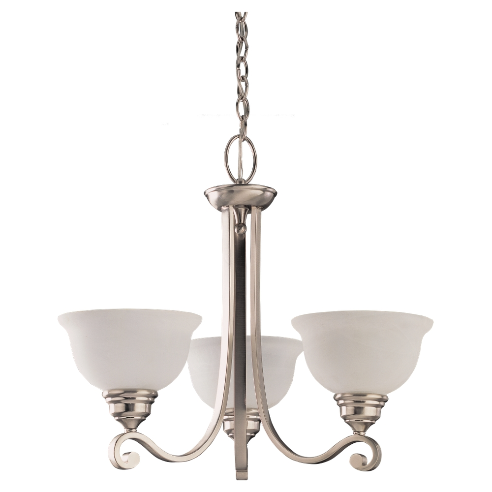 39058ble 962three light chandelierbrushed nickel aloadofball Images