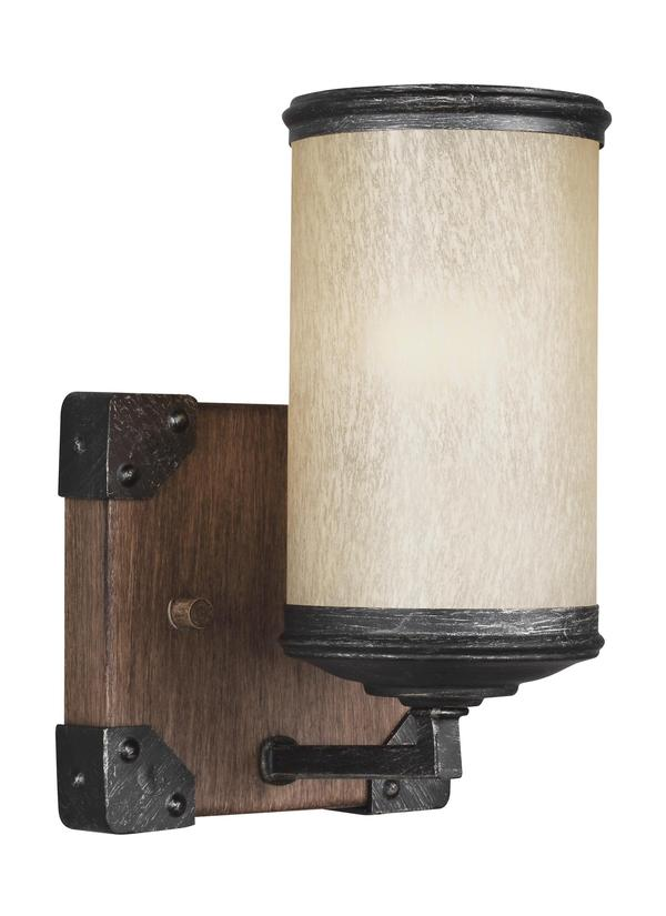sc 1 st  Seagull Lighting & 4113301-846One Light Wall / Bath SconceStardust
