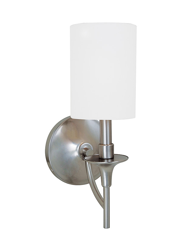 41260 962one Light Wall Sconcebrushed Nickel