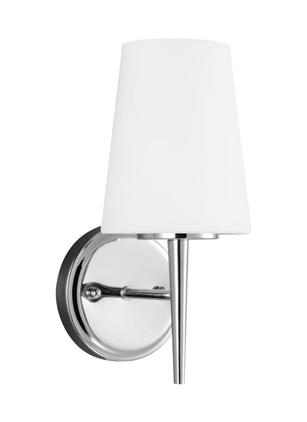 sc 1 st  Seagull Lighting & 4140401-05One Light Wall / Bath SconceChrome azcodes.com