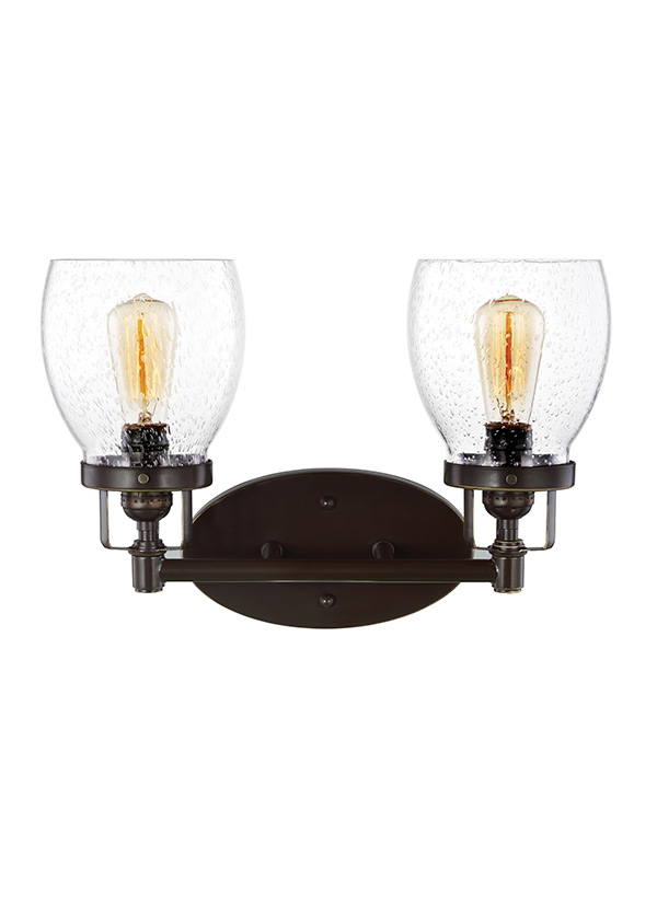 Bathroom Light Fixtures Damp Location 4414502-782,two light wall / bath,heirloom bronze