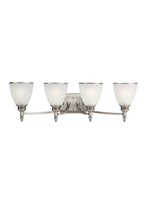 44352-965,Four Light Wall / Bath,Antique Brushed Nickel