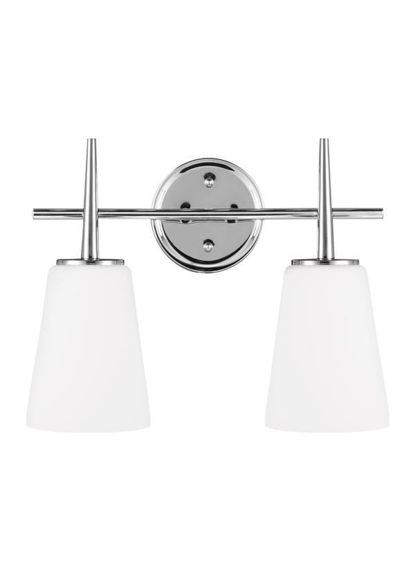 4440402-05,Two Light Wall / Bath,Chrome