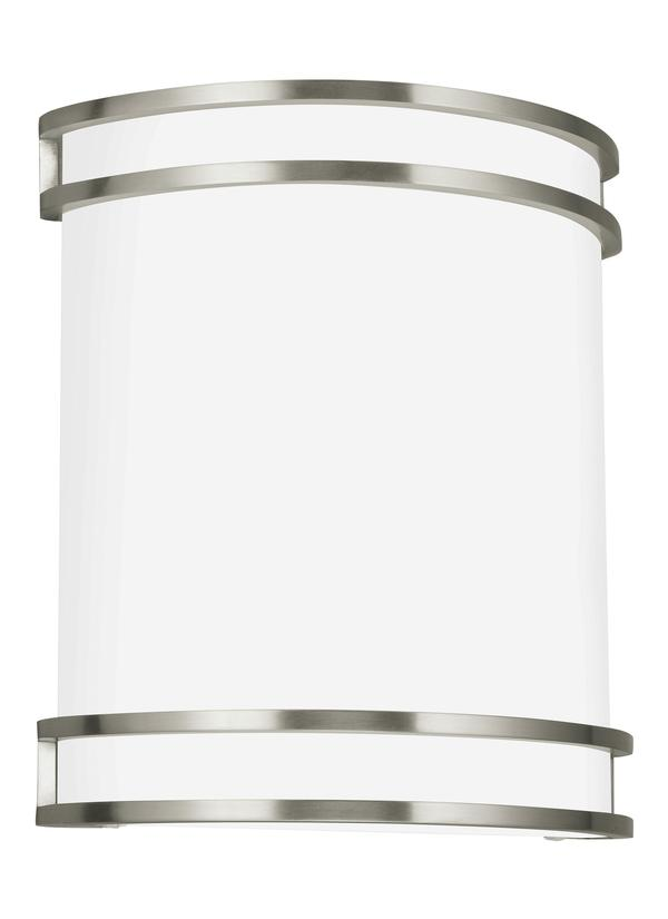 See More ADA Wall Sconces Collection Download Image  sc 1 st  Seagull Lighting & 4933593S-962LED Wall SconceBrushed Nickel