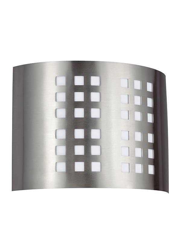 LTwo Light Wall Bath SconceBrushed Nickel - Two light bathroom sconce