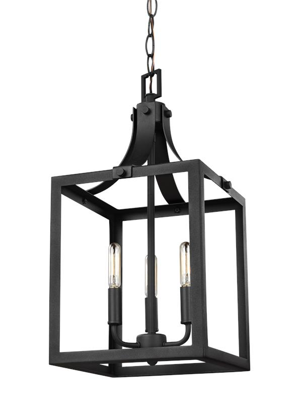 5140603en 12small three light hall foyerblack