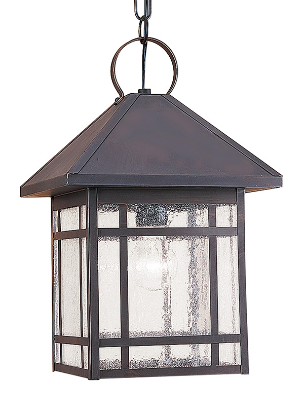60010-71,One Light Outdoor Pendant,Antique Bronze
